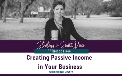 Creating Passive Income in Your Business