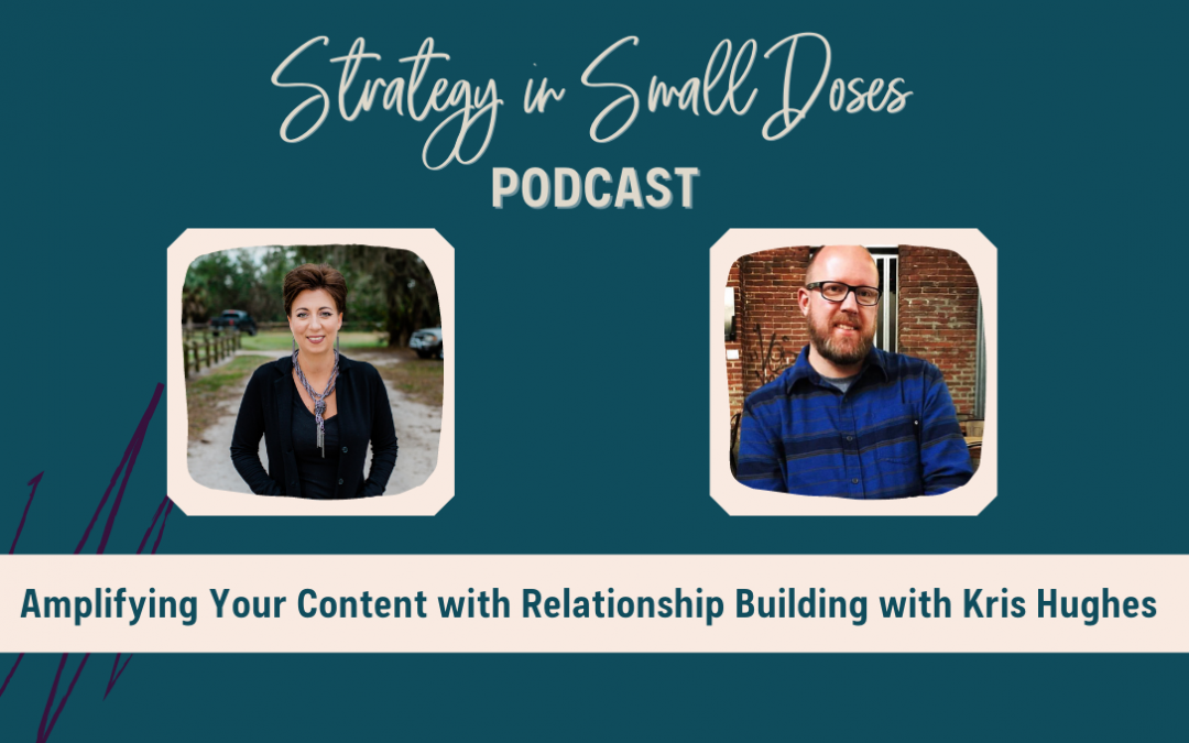Amplifying Your Content with Relationship Building with Kris Hughes