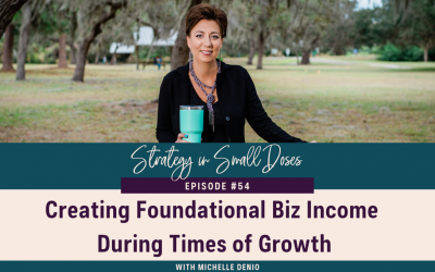 Creating Foundation Biz Income During TImes of Growth