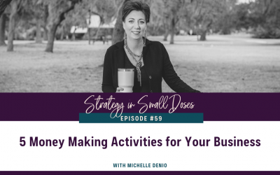 5 Money Making Activities for Your Business